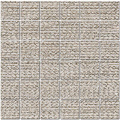 Craft 2 x 2 Porcelain Mosaic Tile in Rope