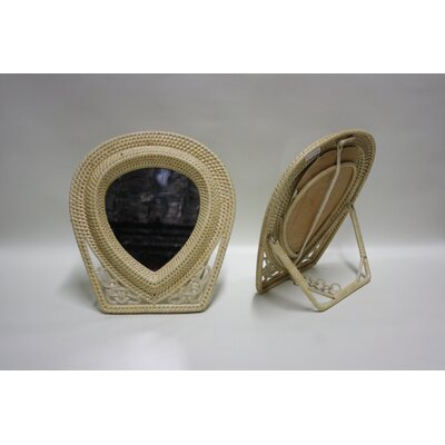 Rattan Table Mirror CBU_0008