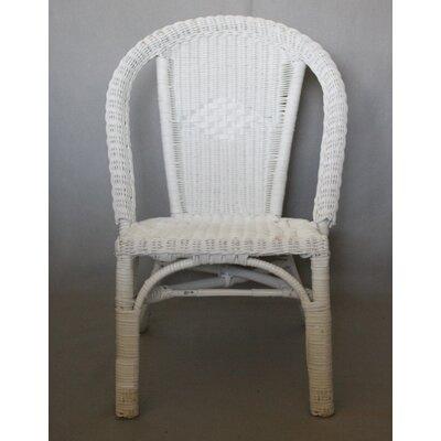 Robbyn Wicker Bistro Curve Armchair