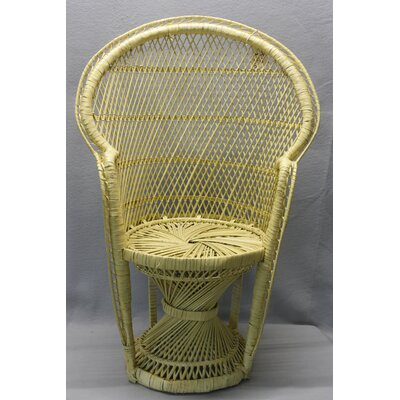Dyal Kiddie Chair Finish: Yellow