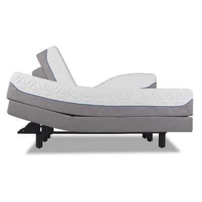 Cloud Supreme Breeze 11 Plush Memory Foam Mattress with Ergo Plus Adjustable Foundation