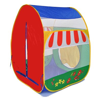 Pretend Garden Twist Safety Meshing with Play Tent CT-411