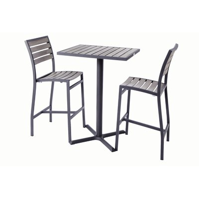 Mason 3 Piece Bar Table Set