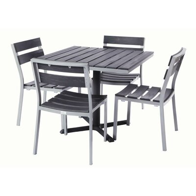 Milloy 5 Piece Dining Set