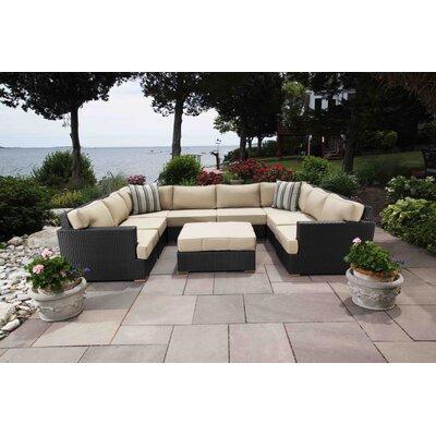 Salina 9 Piece Deep Seating Group with Cushion