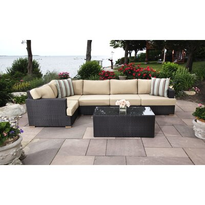 Salina 6 Piece Seating Group with Cushions