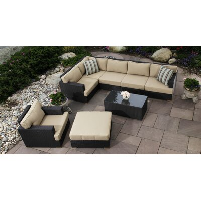 Salina 8 Piece Seating Group with Cushion