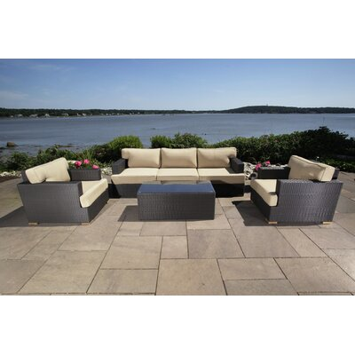 Salina 6 Piece Seating Group with Cushion
