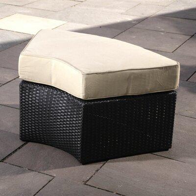 Santorini Ottoman with Cushion