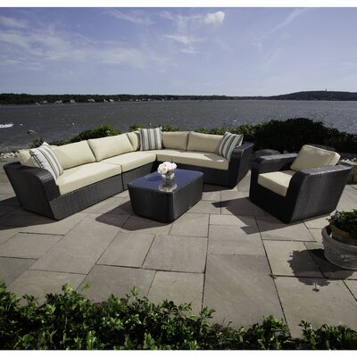 Malta 6 Piece Sectional Set with Cushions