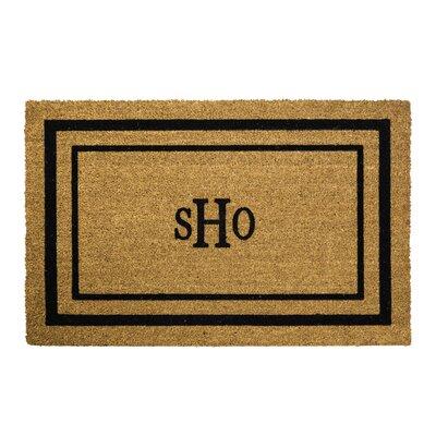 Classic Monogram Border Doormat