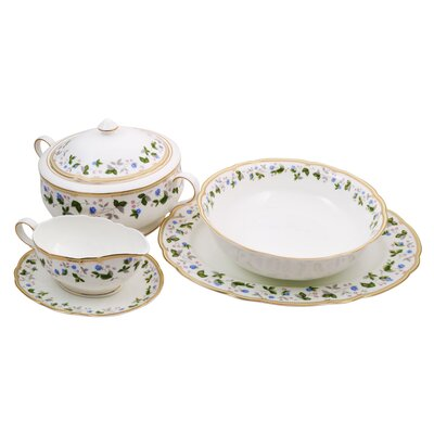 Everglades Bone China Special Serving 5 Piece Place Setting, Service for 1 10185 SS
