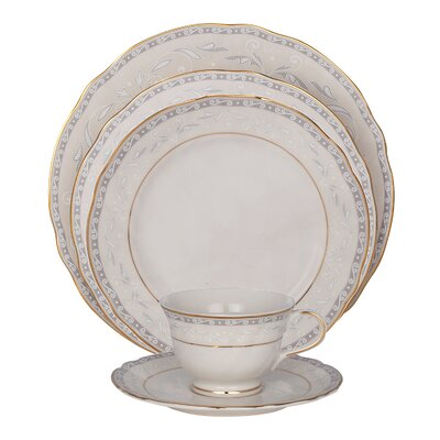 Spring Valley Ivory China Place Setting, Service for 1 (Set of 4) 20934  PS