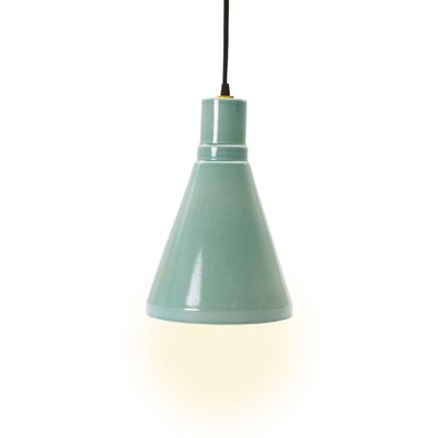 Linke 1-Light Mini Pendant Base Color: Ocean Spray