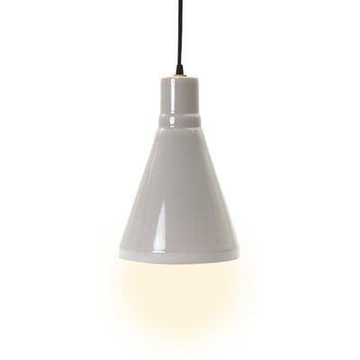 Mullinix 1-Light Mini Pendant Base Color: Swanky Gray