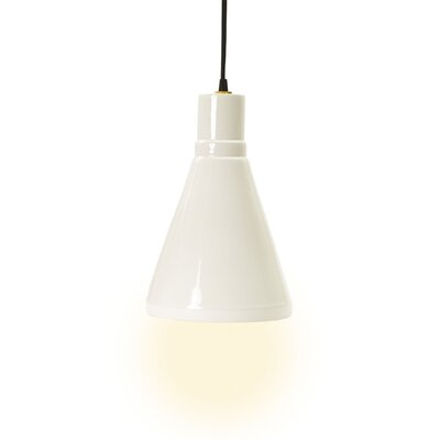 Linke 1-Light Mini Pendant Base Color: White