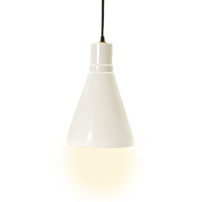 Mullinix 1-Light Mini Pendant Base Color: White