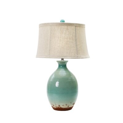 28 Table Lamp Base Finish: Ocean Spray