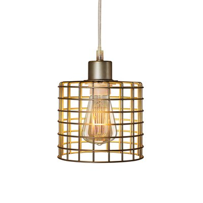 North Basket Cage 1-Light Mini Pendant
