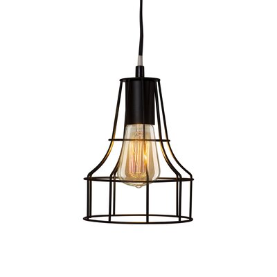 North Metal Cage 1-Light Mini Pendant