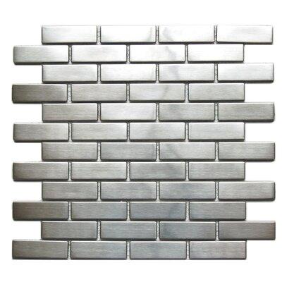 Metal Mosaic Tile in Silver