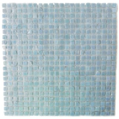 Ecologic 0.38 x 0.38 Glass Mosaic Tile in Sky Blue