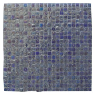 Ecologic 0.38 x 0.38 Glass Mosaic Tile in Violet