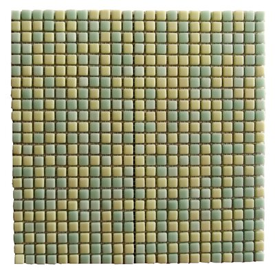 Full Body 0.5 x 0.5 Glass Mosaic Tile in Jade