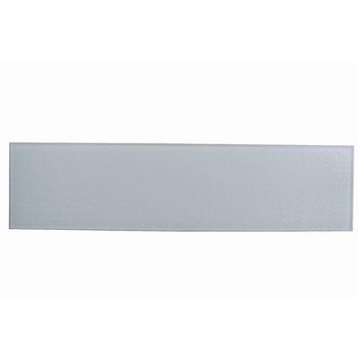 Monroe 4 x 16 Glass Field Tile in Siberian White