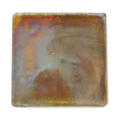 Atmosphere 2 x 2 Glass Mosaic Tile in Brown