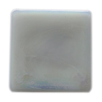 Atmosphere 2 x 2 Glass Mosaic Tile in White