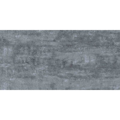 Thin Porcelain 23.6 x 11.8 Porcelain Field Tile in Midnight Gray