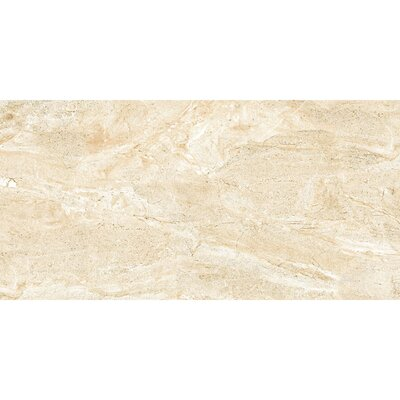 Thin Porcelain 11.8 x 23.6 Porcelain Field Tile in Mediterranean Beige