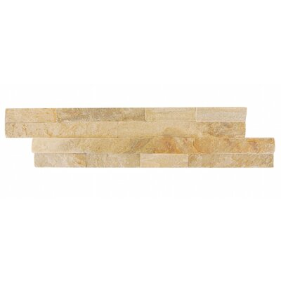 Natural Essence Random Sized Slate Splitface Tile in Beige Tahiti