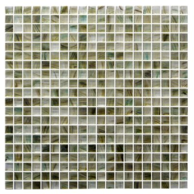 Honey Berries 0.63 x 0.63 Glass Mosaic Tile in Matte Coral