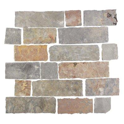 Ardesia Random Sized Slate Splitface Tile in Sonora
