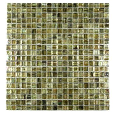 Honey Berries 0.63 x 0.63 Glass Mosaic Tile in Glazed Pearl Coral