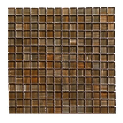 Handicraft II 0.75 x 0.75 Glass Mosaic Tile in Glazed Santa Fe