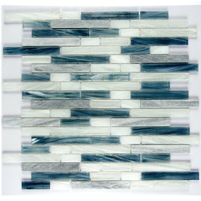 Bishop Glass Mosaic Tile in Imperial Blue WHSIHBLNR-IB