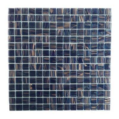 Bon Appetit 0.75 x 0.75 Glass Mosaic Tile in Blue