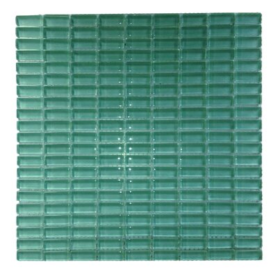 Epiphany 0.5 x 1.25 Glass Mosaic Tile in Blue
