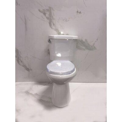 1.28 GPF Round Two-Piece Toilet