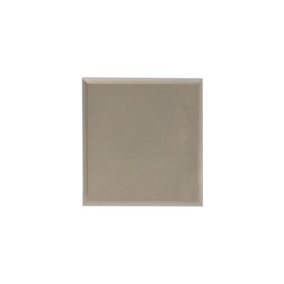 Echo 8 x 8 Mirror Glass Field Tile in Gold Matte