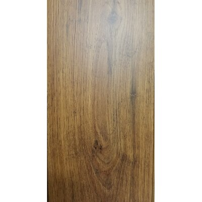 4.86 x 47.24 x 10mm Oak Laminate Flooring in Brown