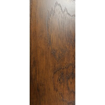 4.86 x 47.24 x 10mm Hickory Laminate Flooring in Brown