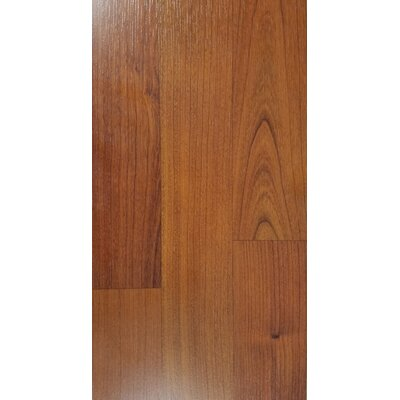 4.86 x 47.24 x 10mm Cherry Laminate Flooring in Brown