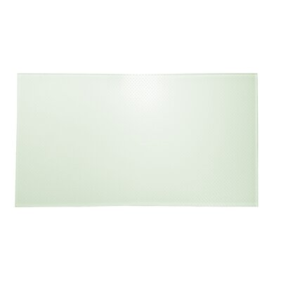 Particles Dotted Wall and Floor Tiles 12 x 24 in Pearl Mist White