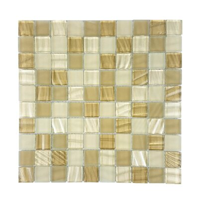 New Era 1.25 x 1.25 Slate Mosaic Tile in Beige