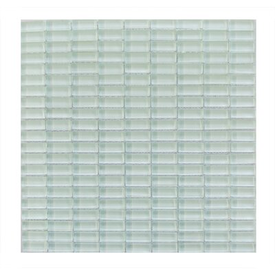 Epiphany 0.5 x 1.25 Glass Mosaic Tile in Light Blue