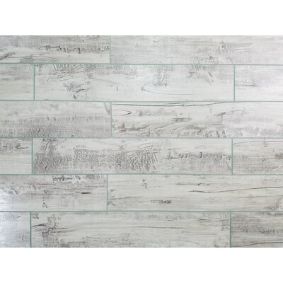 Nature 3 x 16 Glass Subway Tile in Gray/Tan